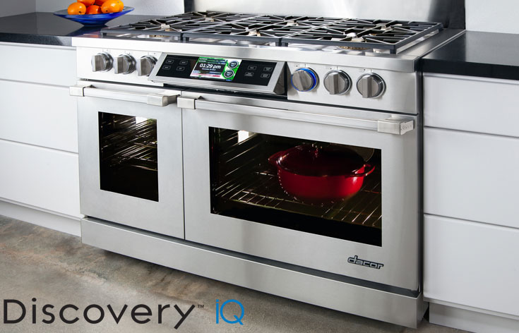 Dacor's Discovery IQ Dual-fuel Range